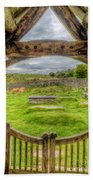 St Celynnin Graveyard Bath Towel