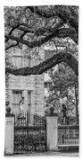 St. Charles Ave. Mansion 2 Bw Bath Towel