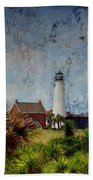 St. George Island Historic Lighthouse Bath Towel