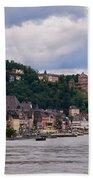 St Goar Am Rhein Bath Towel