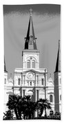 St Louis Cathedral Poster 1 Bath Towel