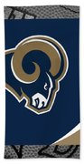 St Louis Rams Bath Towel