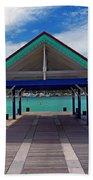 St. Maarten Pier Bath Towel