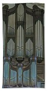St Martins In The Field Organ Bath Towel