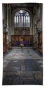 St Mary The Virgin Church - Choir And Altar Bath Towel