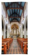 St Mary's Catholic Church - The Nave Bath Towel