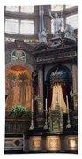 St Nicholas Church Interior In Amsterdam Bath Towel