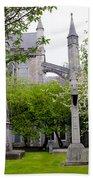 St Patricks Cathedral - Dublin Ireland Bath Towel