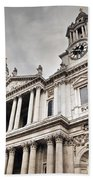 St Pauls Cathedral In London Uk Bath Towel