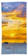 St. Pete Beach Sunset Bath Towel