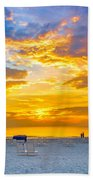 St. Pete Beach Sunset Bath Towel