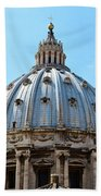 St Peters Basilica Dome Vatican City Italy Bath Towel