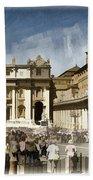 St Peters Square - Vatican Bath Towel