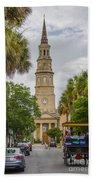 St. Philip's Episcopal Church Charleston Sc Bath Towel