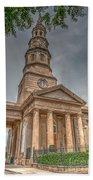 St. Philip's Episcopal Church In Charleston Bath Towel