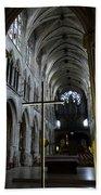 St. Severin Church In Paris France Bath Towel
