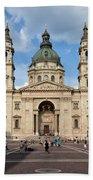 St. Stephen's Basilica In Budapest Bath Towel