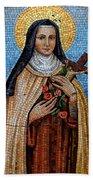St. Theresa Mosaic Bath Towel