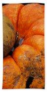 Stacked Pumpkins Bath Towel