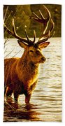 Stag Bath Towel