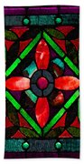 Stained Glass 2 Bath Towel