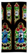 Stained Glass Bath Towel