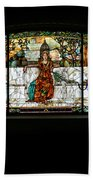 Stained Glass Window Bath Towel