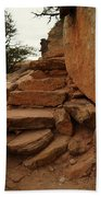 Stairs In The Desert Bath Towel