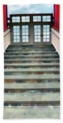 Stairs To The Barn Hand Towel