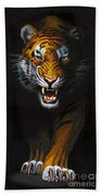 Stalking Tiger Bath Towel