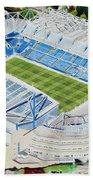 Stamford Bridge Stadia Art - Chelsea Fc Bath Towel