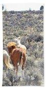 Stampede Of Wild Horses Bath Towel