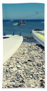 Stand Up Paddle Boards Bath Towel