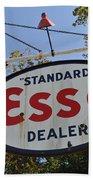 Standard Esso Dealer Bath Towel