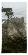 Standing Tall On The Rock Bath Towel