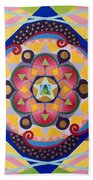 Star Mandala Bath Towel