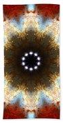 Starburst Galaxy M82 I Bath Towel