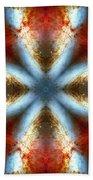 Starburst Galaxy M82 V Bath Towel