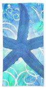 Starfish By Jan Marvin Bath Towel