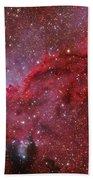 Starforming Emission Nebula Ngc 6188 Bath Towel