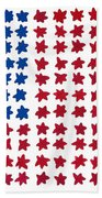 Stars No Stripes Bath Towel
