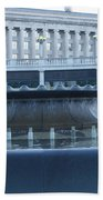 State Capital Fountain Bath Towel