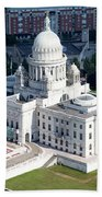 State Capitol Buildng Providence Rhode Island Bath Towel