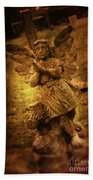 Statue Of Angel Bath Towel
