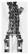 Statue Of Liberty, 1886 Bath Towel