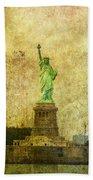 Statue Of Liberty Bath Towel