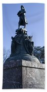 Statue Of Thomas Jefferson Bath Towel