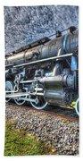 Steam Locomotive No 606 Bath Towel