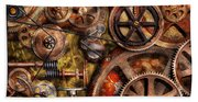 Steampunk - Gears - Inner Workings Hand Towel