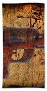 Steampunk - Gun - Ray Gun Bath Towel